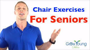 Armchair Aerobics Exercises Chair Exercises For Seniors Senior Fitness Exercises For The