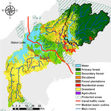 Asu Campus Map Panama Canal Watershed Offers Test Bed For Asu Reforestation Study
