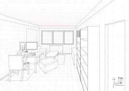 one point perspective drawing of a living room iammyownwife com