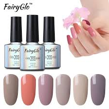 uv l for gel nails fairyglo 10ml color gel varnish soak off gel nail polish uv led