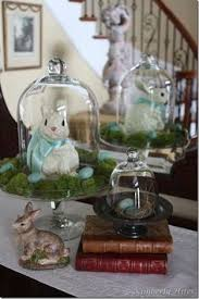 Large Scale Easter Decorations by Spring Decor Pinspiration Fresh Flowers Rabbit And Monograms