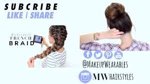 easy back to hairstyles cute quick and easy braids for cute and easy back to hairstyles lazy last minute braids