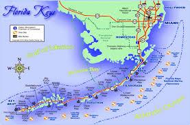 Map Orlando Florida by Florida Keys Beach Map Key Largo To Key West Wildlife Bridges