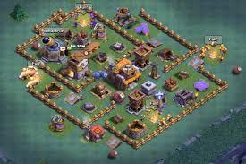 coc village layout level 5 level 5 builder hall base coc base
