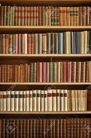 Bookcase With Books Bookcase With Many Old Books In A Library Stock Photo Picture And