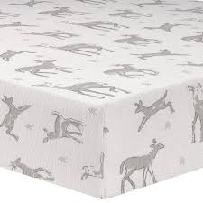 Crib Bedding Separates Liz And Roo Taupe Fawn Crib Sheet Create Your Own Unique Look