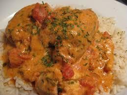 cuisiner haut de cuisse de poulet recettes de flipp cuisses de poulet mijotées en sauce crémeuse au