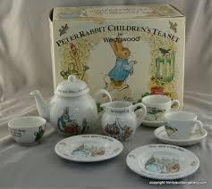 beatrix potter tea set wedgwood china beatrix potter tea set boxed