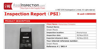 pre shipment inspection psi report sample asiainspection u2013 pre