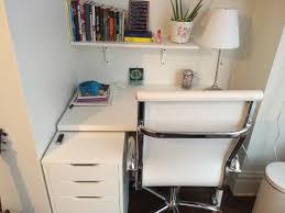 diy my first room makeover desk table top linnmon ikea 3