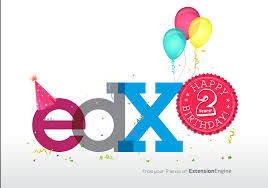 edx turns 2 years old