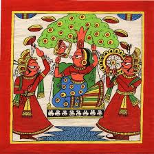 169 best phad paintings images on types of rajasthani paintings