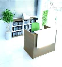 Salon Reception Desk Furniture Receptionist Desk Ideas Medium Size Of Top Reception Desks Office