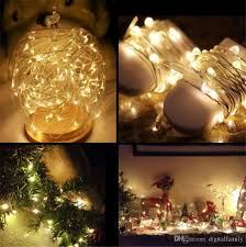 Halloween Christmas Lights Cheap 2m 20leds Led String Cr2032 Battery Operated Micro Mini