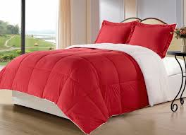 White And Red Comforter Gorgeous Red Comforters For A Beautiful Bedroom
