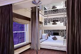 Suspended Bed by There U0027s A Bunk Bed In Your Luxury Hotel King Size Mattress Bunk