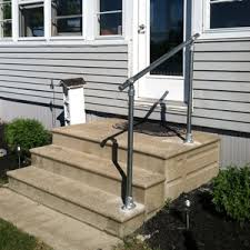 Stair Banister Kit Outdoor Stair Railing Kit Buy Step Handrail Online Simplified