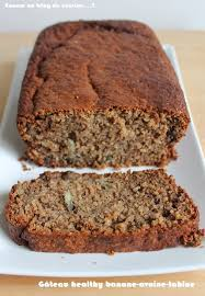 cuisine sans farine gâteau healthy banane avoine tahine sans farine ni beurre ni huile