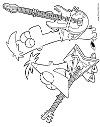 phineas and ferb coloring pages disney coloring book