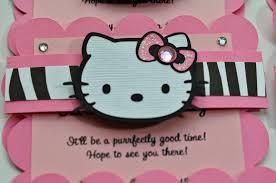 jingvitations hello kitty birthday party invitations