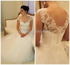 wedding gowns with sleeves gown sheer cap sleeves wedding dresses covered button