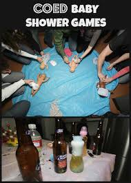 coed baby shower games val event gal