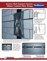 Basement Foundation Repair by Safebase Wall Anchors Fixing Bowed Walls
