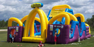 inflatable rentals bounces slides obstacle courses sports