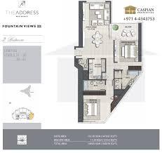 fountain views 1 floor plans