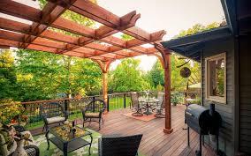 wood u0026 composite decking paradise restored landscaping