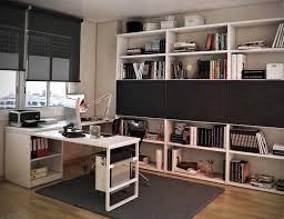 Modern Study Desk by Modern Study Room Showz White Wooden Desk On Grey Rug And White