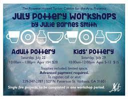 Annette Barnes July Pottery Workshop By Julie Barnes Smith Annette Howell