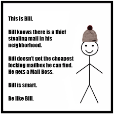 Be Like Bill If You - this is bill be like bill mailboss