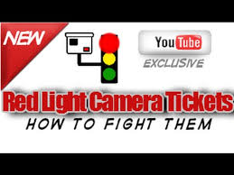 dispute red light camera ticket how to fight a red light camera ticket youtube