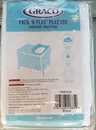 Graco Changing Table Pad Graco Pack N Play Playard Changing Table Pads 2 Pack New Free