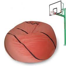 super soft creative basketball design bean bag chair beddinginn com