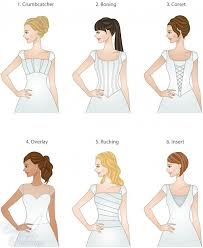 different wedding dress shapes best 25 types of dresses styles ideas on types of
