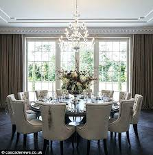 dining table expandable round dining table amazing large square