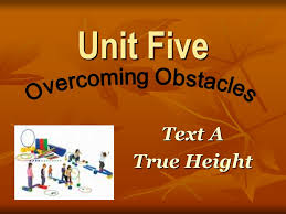 Blind Pole Vaulter Michael Stone Unit Five Text A True Height Grasp The Main Idea Dreaming And
