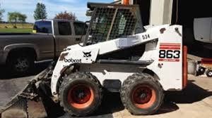 bobcat 863 skid steer loader service repair manual s n 514611001