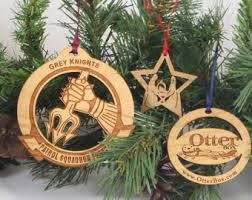 wood ornaments etsy