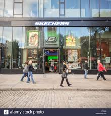 a skechers store in union square in new york on friday november