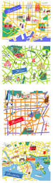 San Francisco Zoo Map by 684 Best Maps Images On Pinterest Map Design Map