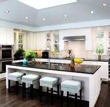 built in kitchen islands with seating imposing kitchen island with built in seating 35 large kitchen