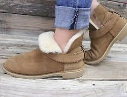 s suede ankle boots australia ugg australia womens mckay chestnut sheepskin suede ankle boots