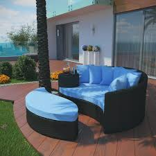 convene outdoor patio daybed multiple colors by modway
