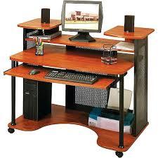 multi tiered computer desk office desk desks at office depot transit collection multi tiered