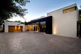 Single Story Flat Roof House Designs Moss Oaklands Residence By Nico Van Der Meulen Architects
