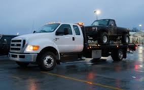 Old Ford Truck Lifted - our weekend with a ford f 650 tow truck