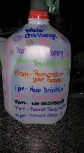Challenge Water On Water Challenge Jug Mentalfit Water Workout And